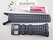 Genuine Suunto Ambit3 Peak black rubber watch band strap SS021085000