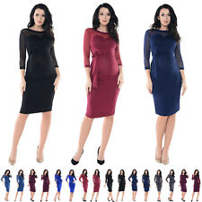 Purpless Maternity Ruched Bodycon Heart Shaped Cleavage Pregnancy Dress Top D012