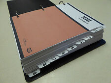 Case 880D Excavator Service Manual Repair Shop Book NEW with Binder