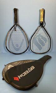 2 Raquetball Rackets; Ektelon Neuro XS And Head Fury 3 5/8