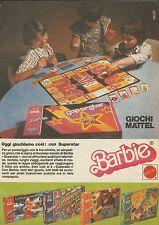 X9042 Barbie - Oggi giochiamo con Superstar - Pubblicità 1977 - Advertising