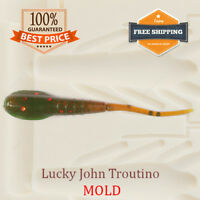 Troutino Worm Bait Mold Fishing Soft Plastic Lure 40-50 mm