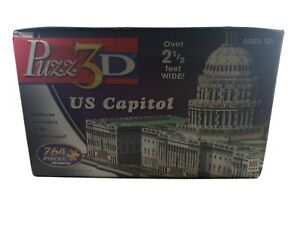 Puzz3D US Capital Building 764 Pieces Advanced Over 2.5 Feet Wide