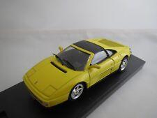 """Bang/Revell  Ferrari  348  ts  """"Stradale""""  (gelb)  1:43  OVP !"""