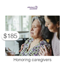 $185 Charitable Donation For: caregivers