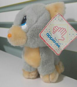SAD TOM- SAD SAMS FRIEND WITH ORIGINAL TAGS PLUSH TOY CAT APPLAUSE  1989!