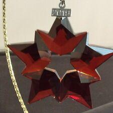Swarovski 2019 Holiday Red Annual Ornament #10720