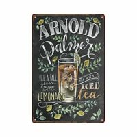 Cafe Tin sign Romantic Wall Plaque Poster Lemonade Hanging signs Cola Home Decor