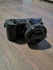 Sony Alpha a5100 mirrorless fotocamera digitale con obiettivo 16-50mm, scatola e accessori