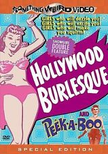 Hollywood Burlesque/Peek-A-Boo ~ SOMETHING WEIRD VIDEO (DVD, 2005)