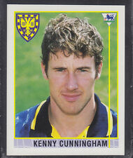 Merlin Shreddies - Premier League 96 - # 219 Kenny Cunningham - Wimbledon