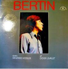JACQUE BERTIN/KESSLER/LEVALLET live LP 1978 RARE VG++