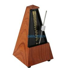 Antique Vintage Style Metronome Wood Color Music Timer For seth thomas Classical