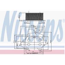 Ölkühler, Motoröl NISSENS 90670
