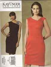 Vogue Designer Sewing Pattern, Kay Unger, 1205, Dress, Size 8 - 14, New, OOP