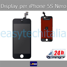 TOUCH SCREEN + LCD DISPLAY RETINA + FRAME PER APPLE IPHONE 5S VETRO SCHERMO NERO