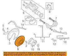 LAND ROVER OEM 95-02 Range Rover Rear Brake-Rotor SDB000470
