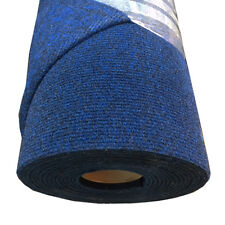 Boat carpet wall lining material 20sq mtr roll (10m x 2m) NAVY Ribbed Finish