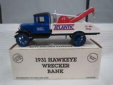 Atlantic 1931 Hawkeye Wrecker-Die Cast Metal