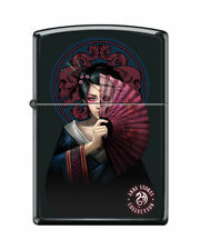 Zippo Windproof Anne Stokes Geisha Girl Lighter 46839, New In Box