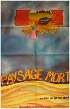 PAYSAGE MORT Affiche Cinéma / Movie Poster 160x120 Istvan Gaal