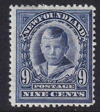 Canada Newfoundland SG 124 9c Violet Blue Mounted Mint Cat £35.00