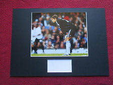 CHELSEA LEGEND CARLO CUDICINI GENUINE HAND SIGNED A3 MOUNTED PHOTO DISPLAY- COA