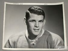 Original Mid 50's Andre Pronovost Mtl Canadiens photo