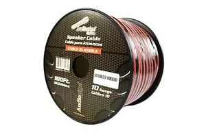 10 Gauge 100 Feet Red Black Cable 2 Conductor Speaker Wire Car Home Audio