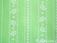 35x148 cm Tessuto vestito tirolese Cotone verde Costume tradizionale
