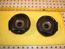 Mercedes L R129 SL behind front seats small BOSE LEFT & Ri 1 set of 2 Speakers