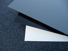 PVC Dur plaque prédécoupé divers. tailles,gris RAL7011,épaisseur 6 mm ( 46,00€/