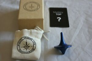 ForeverSpin - Rare Blue Spinning Top - w/ Original Box, Card, Bag