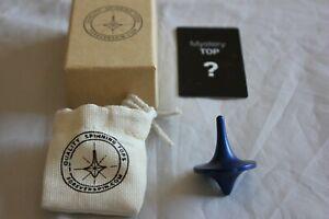 ForeverSpin - Rare Blue Spinning Top - w/ Original Box, Card, Bag