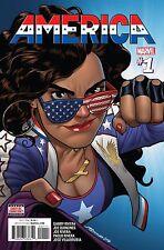 America # 1 Regular Cover NM Marvel