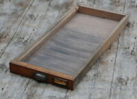 Schublade Steckschriftkasten Druckerei Holzschublade industrie vintage Holz°