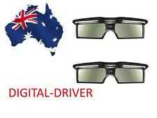 2 pairs 3D ACTIVE GLASSES FOR Samsung ssg-3100gb ssg-3050gb SSG-4100GB AU Models
