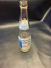 Blue DIET TOWNE CLUB BEVERAGES SODA BOTTLE 12 OZ ACL.  Indianapolis, IN