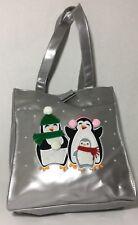 Shiny Christmas Diaper Bag Penguins Snow Travelbag Shoulderbag Holiday Zoo bird