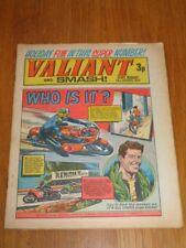 VALIANT AND SMASH 28TH AUGUST 1971 FLEETWAY BRITISH WEEKLY COMIC*