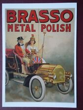 POSTCARD  BRASSO METAL POLISH