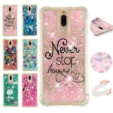Dynamic Liquid Glitter Quicksand Silicone Case Cover Skin For Various Smartphone