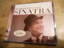 FRANK SINATRA MY WAY THE BEST OF 1997 CD ALBUM WEST GERMAN PRESSED CD 24 TRACKS