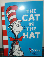 DR SEUSS - THE CAT IN THE HAT BOOK PAPERBACK BRAND NEW CONDITION UNREAD COPY