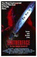 Vintage B Movie Poster Leatherface Texas Chainsaw Massacre 3 A4 A3 A2 A1