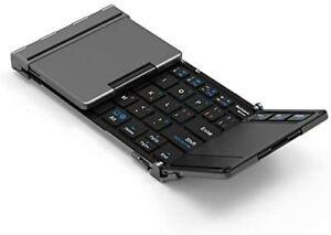 iClever Keyboard Folding Bluetooth usb Touchpad IC-BK08