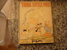Three Little Pigs by Walt Disney Studios. 1st edition 1933 from Silly Symphony