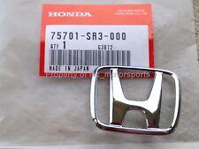 "New OEM Honda 92-95 Civic Si CX DX 3-Door Hatchbacks D16Z6 Rear ""H"" Emblem Badge"