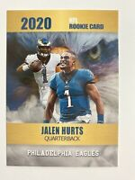2020 Jalen Hurts NFL Rookie Card Rookie Phenoms Limited Edition Philly Eagles