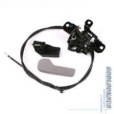 Set 4 OE Hood Lock + Pull Cable + Release Handle + Bracket For VW Golf Jetta MK4